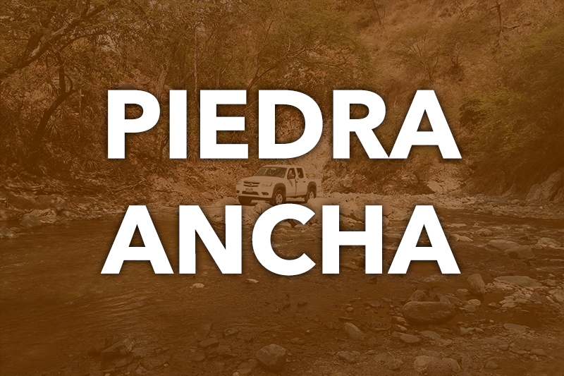 Our desert mountain project in Piedra Ancha